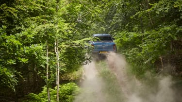 Ford Ranger Raptor UK - dirt