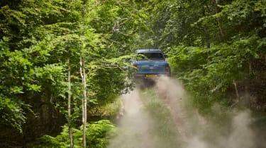 Ford Ranger Raptor UK - dirt