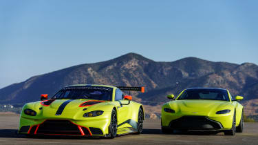 Aston Martin Racing Vantage GTE - static
