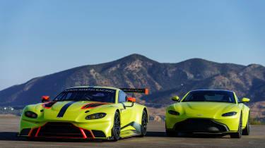 Aston Martin Racing Vantage GTE - static