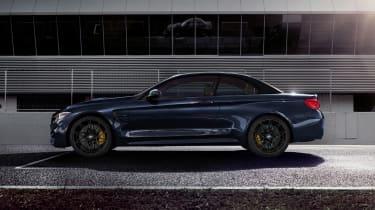 BMW M4 Convertible Edition - profile