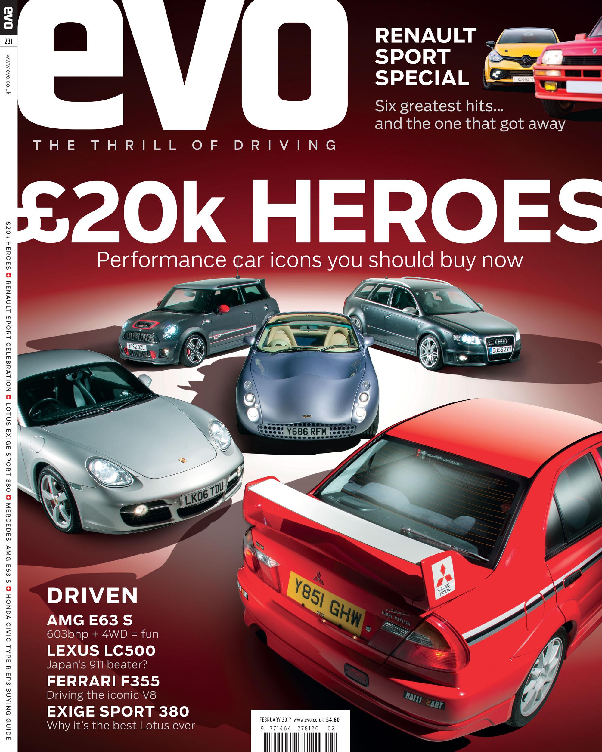 New Evo On Sale Now