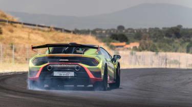 Lamborghini Huracan STO (International) – rear action