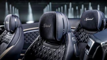 Bentley Continental GT Convertible Speed – seats