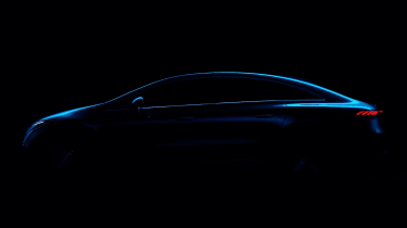 Mercedes EQS saloon teaser