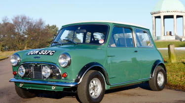 Austin Mini Cooper S Twini twin-engine