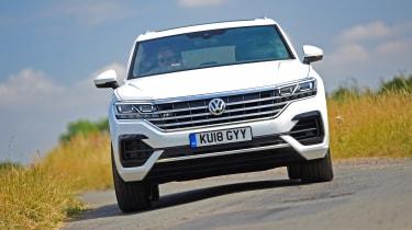 Volkswagen Touareg UK drive - nose