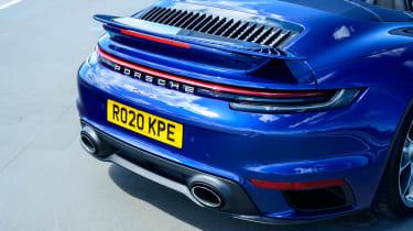 Porsche 911 Turbo S Cabriolet – rear