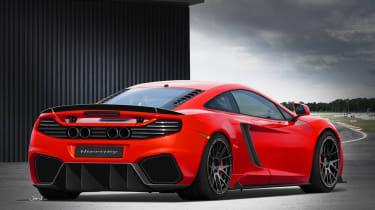 HPE tunes the McLaren MP4-12C