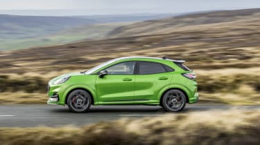 Ford Puma ST 2021 review – pan