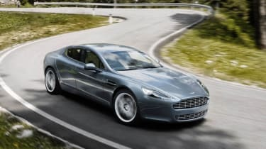 Aston Martin Rapide front action