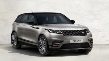 Range Rover Velar front three quarter