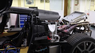GMA T.50 - engine testing 1
