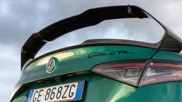 Alfa Romeo Giulia GTAm – wing