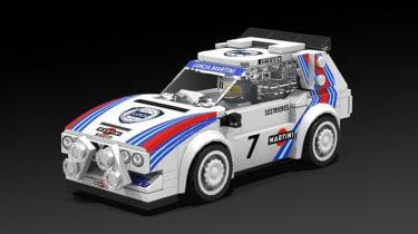 LEGO Lancia Delta S4 - front1