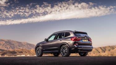BMW X3 30d M Sport - rear quarter