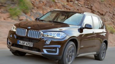 New 2013 BMW X5 brown front