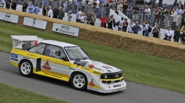 Goodwood Festival of Speed 2014 Audi Quattro S1
