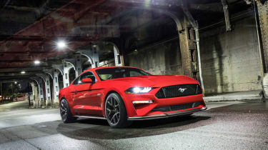 Ford Mustang GT Performance Pack Level 2 –  front quarter
