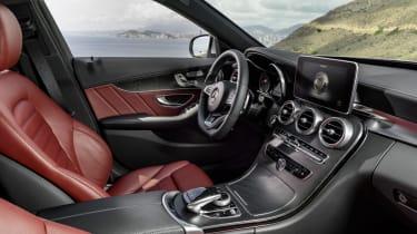 Mercedes C-class interior