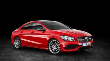 Mercedes-Benz CLA250 4MATIC - front 3.4