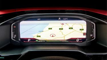 Volkswagen Polo 6 GTI - dials screen