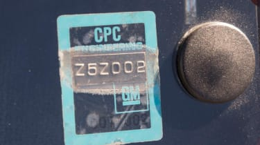Peugeot 205 T16 PTS Clubman – GM sticker
