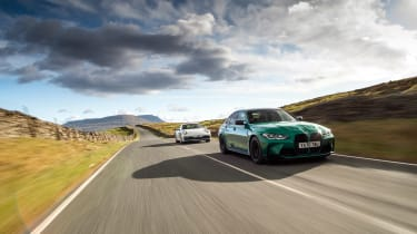 BMW M3 Group from evo 287 – three car tracking