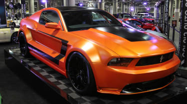 Tuned Ford Mustang Boss 302