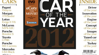 evo Car of the Year 2012