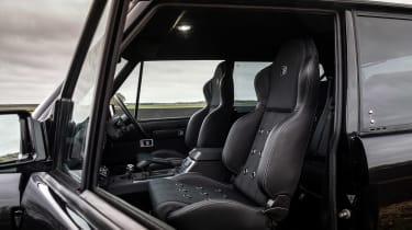 Bishops Heritage Range Rover – seats