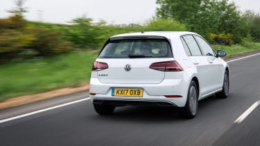 Volkswagen e-Golf - rear quarter