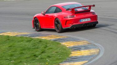 Porsche 911 GT3 - rear cornering