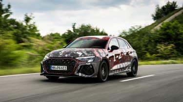 Audi RS3 mule 2020 SB – front3