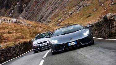 4x4 Wales test - Lambo GTR