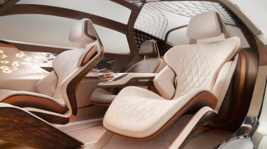 Bentley EXP 100 GT - seats