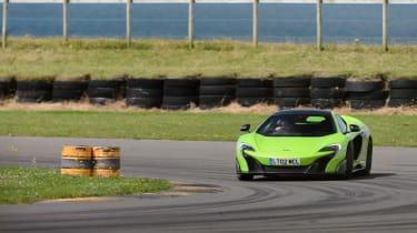 McLaren 675LT - front cornering