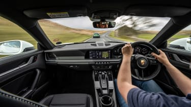 BMW M3 Group from evo 287 – interior driving 911