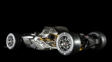 Toyota Gazoo Racing GR Super Sports Concept – cutaway