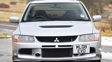 Mitsubishi Evo IX MR FQ-360 front