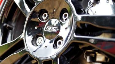 2012 Renaultsport Twingo 133 black alloy wheel