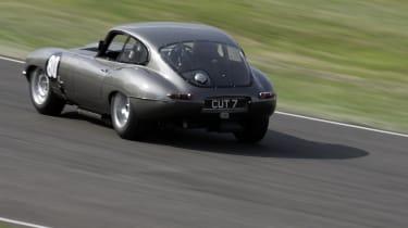 Jaguar E-type drift by Mark O'Neil (@markjohnoneill)