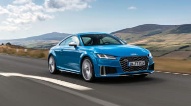 Audi TTS – front quarter