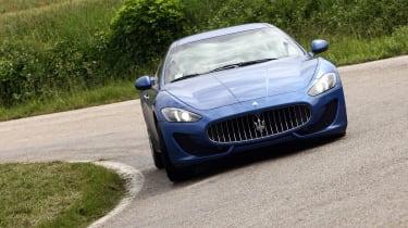 2012 Maserati GranTurismo Sport front cornering