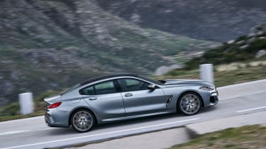 BMW 8-series Gran Coupe side