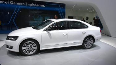 Volkswagen Passat Performance Concept side profile