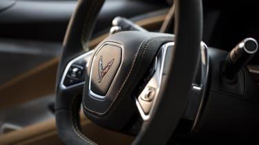 2020 Chevrolet Corvette C8 steering wheel