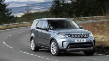 Land Rover Discovery 5 2021 - tracking