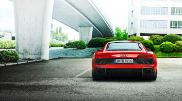Audi R8 V10 Performance RWD – coupe tail