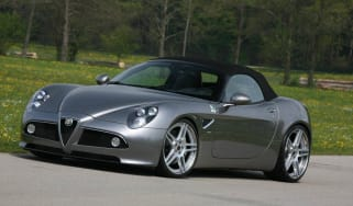 592bhp Alfa Romeo 8C Spider news and pictures